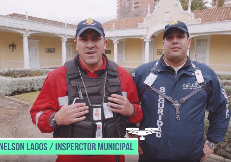 ENTREVISTA: DRONES EN SEGURIDAD Y VIGILANCIA / COMUNA DE LAS CONDES