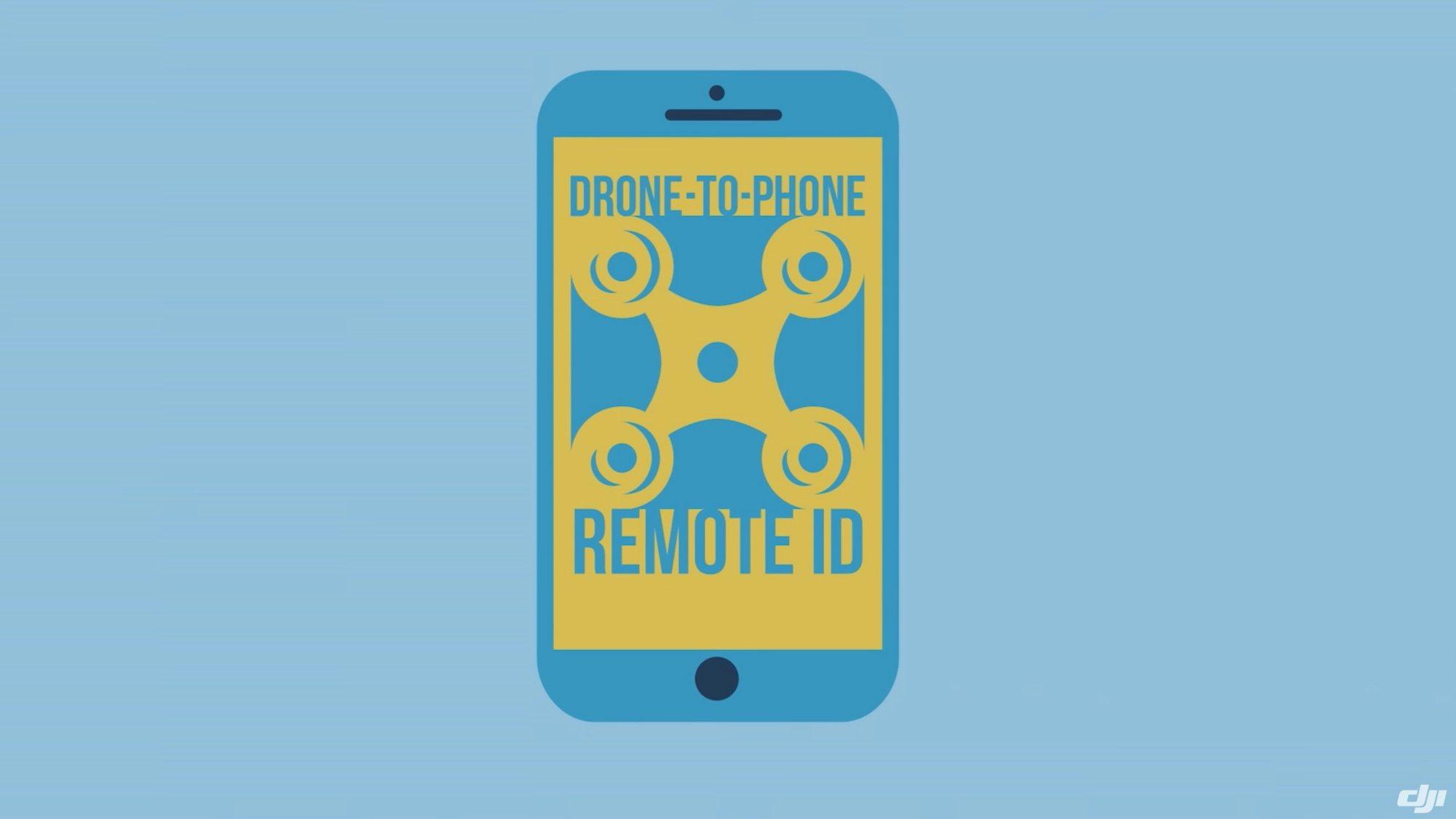 DJI PROPONE SISTEMA PARA IDENTIFICAR REMOTAMENTE A UN DRONE EN VUELO – DRONE TO PHONE REMOTE ID