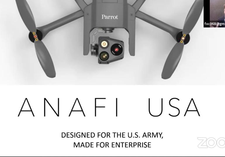 Entrevista: Todo sobre el nuevo drone Parrot Anafi USA