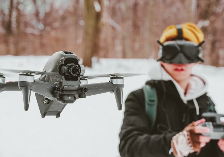 CONOCE EL NUEVO DRONE DJI FPV